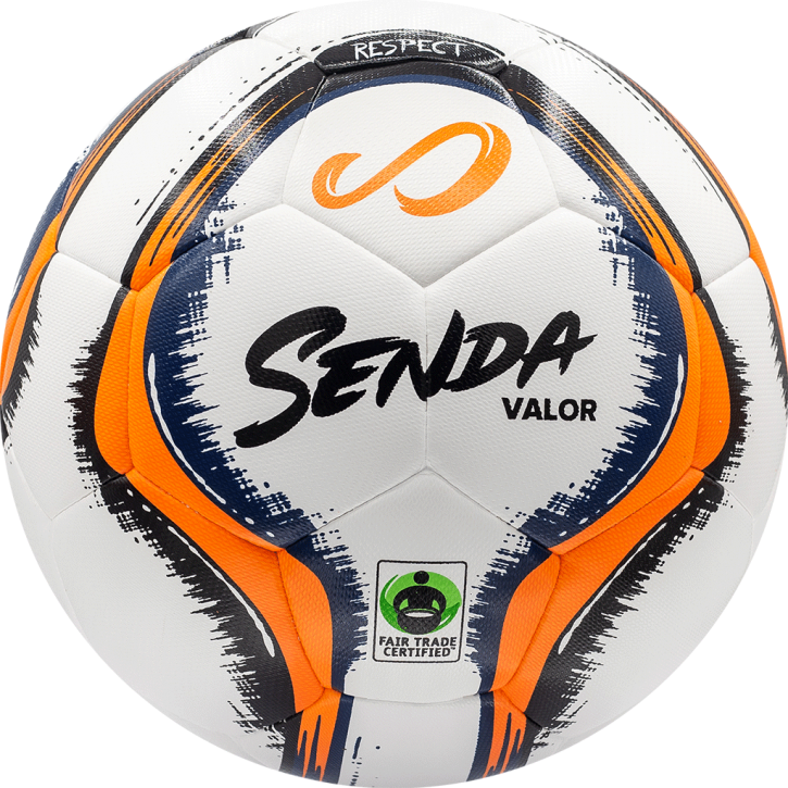 Valor Match DuoTech - White/Orange/Navy Blue/Black - Size 5