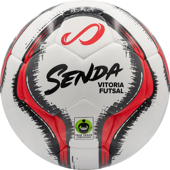 Vitoria Match Futsal DuoTech - White/Red/Grey/Black - Size 4