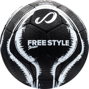 Street Freestyle - Black/White - Size 4