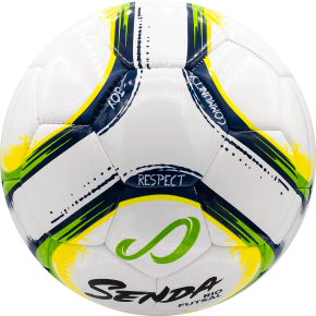 Rio Premium Training Futsal - White/Green/Yellow/Navy Blue - Size 3